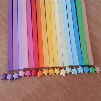 Origami Lucky Star Paper Approx 50pcs/Pkt
