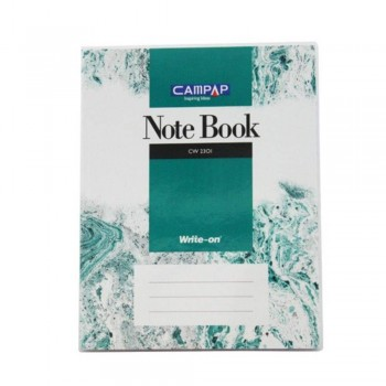 Campap Cw2301 F5 Pvc Cover Note Book 160P (Item No: C02-01) A1R4B116