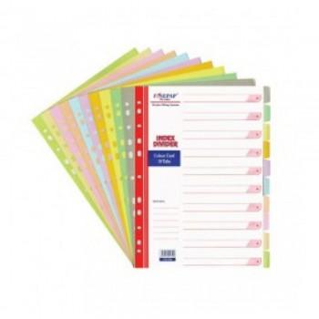 Finepap 10 Color Index Divider (FW1008)