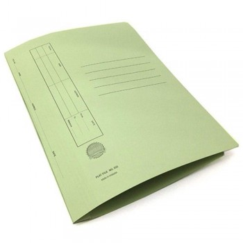Manila Flat File U-Pin Spring Hook - No.350 Green A1R1B105