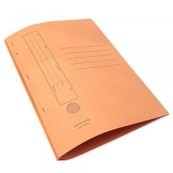 Manila Flat File U-Pin Spring Hook - No.350 Orange  A1R1B107