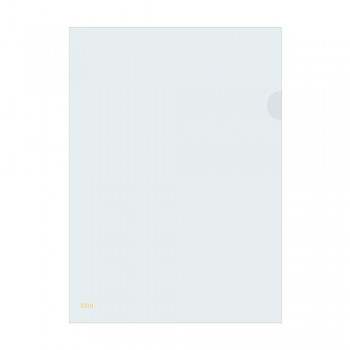 L Shape Transparent (White) Document Holder File A4 Size
