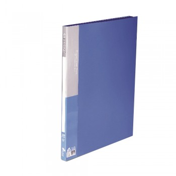 PP A3 Clear Book - Blue with 20 pockets