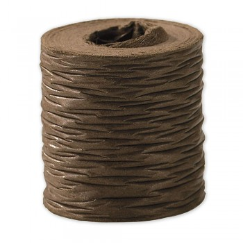 Ribbon Paper 25m Brown