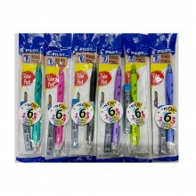 Pilot REXGRIP Mechanical Pencil 0.7mm Pastel Color VALUE PACK