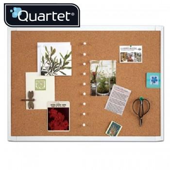 Quartet White Frame Cork Board MHOB1723