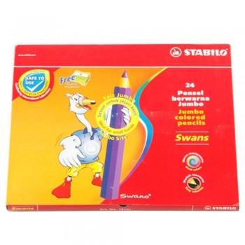 Stabilo 1879J Jumbo Color Pencil 24L (Item No: B05-32) A1R2B160