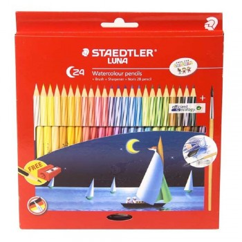 Staedtler Luna Watercolour Pencil - 24 colours