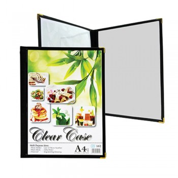 K2 162 Multipurpose Transparent Menu Holder