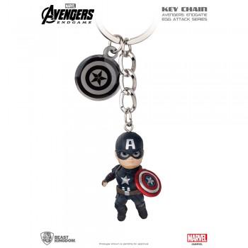 Avengers: End Game Egg Attack Key Chain Series Captain America