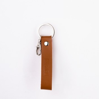 Avengers Series Leather Keychain (Dark Brown)