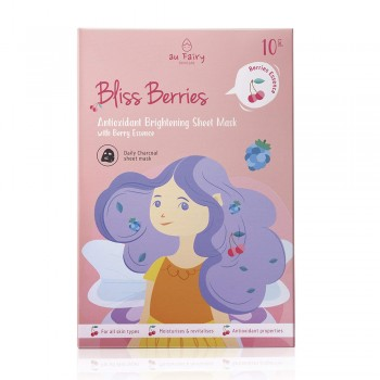 Aufairy Bliss Berries Brightening Mask - 10pcs