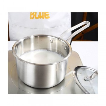 Homex Adneny Stainless Steel 18cm Milk Pot : Z-262